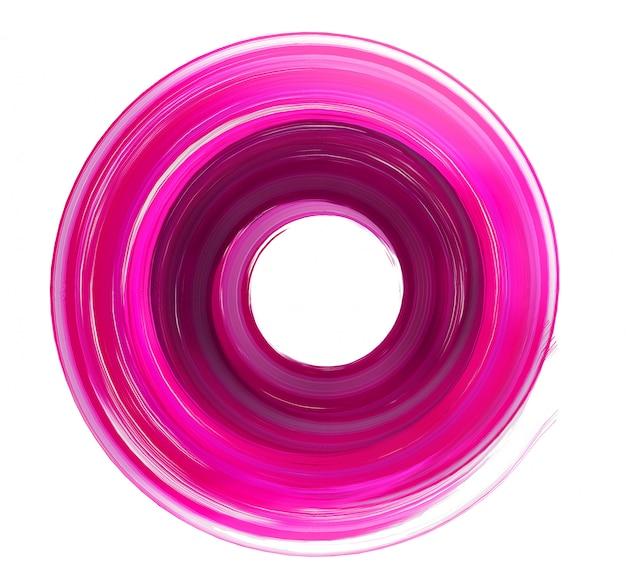 Coup de pinceau circulaire