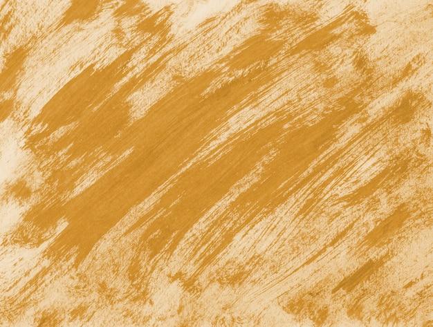 Coup de pinceau orange abstrait