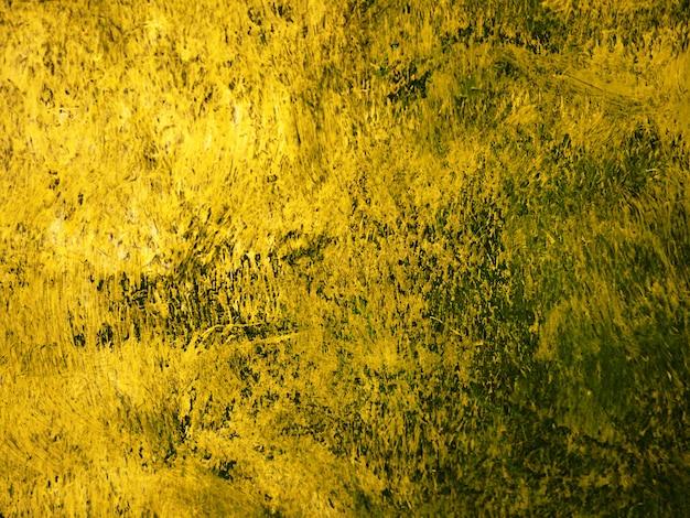 Coup de pinceau peinture à l'huile or