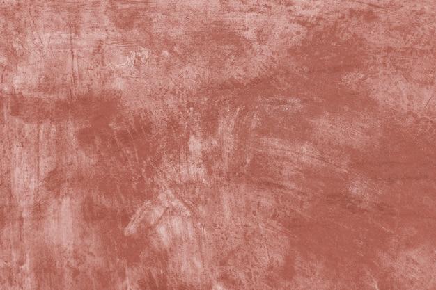 Coup de pinceau de peinture orange texturé