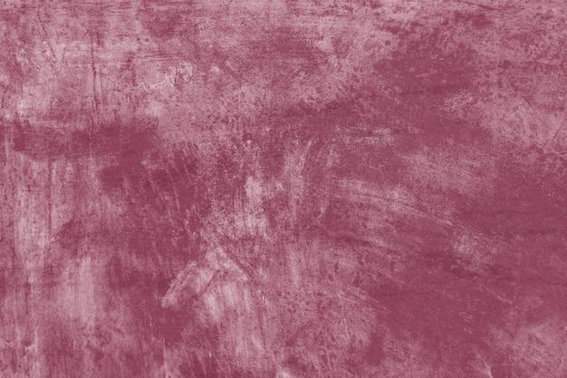Coup de pinceau de peinture rouge texturé
