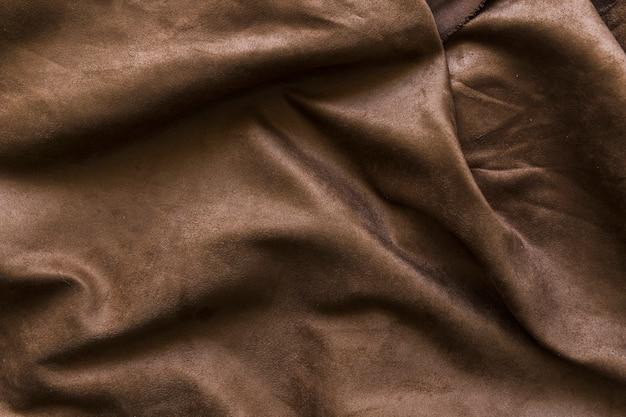 Coup plein cadre de fond drapé brun