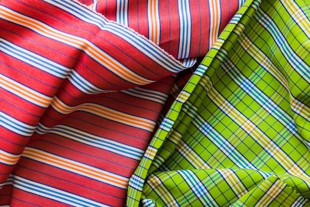 Coup plein cadre de fond textile de coton