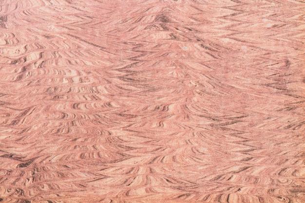Coup plein cadre de fond de texture en bois déformée