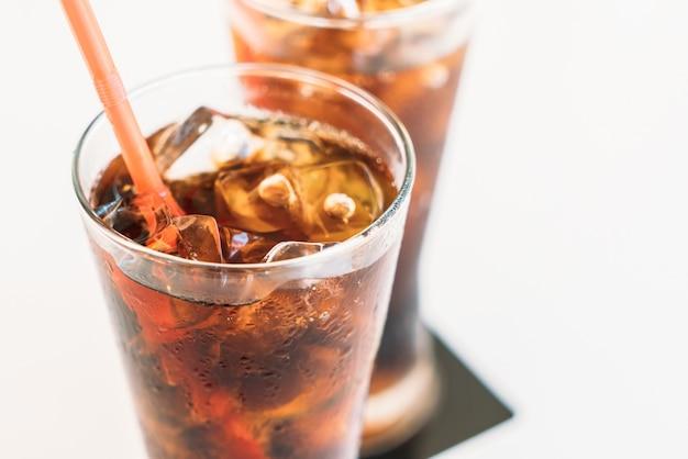 Coupe du coke de fond de rafraîchissement cocacola