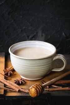Coupe de masala chai