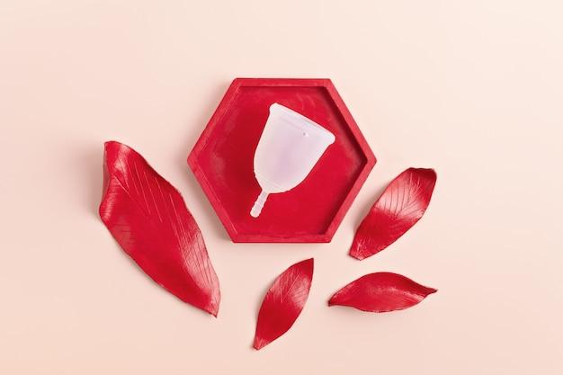 Coupe menstruelle réutilisablesoins menstruels durables, zéro déchet et neutres en termes de genre