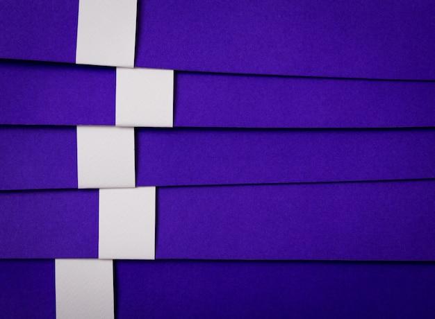 Coupe de papier de modèle de design moderne peut être utilisé pour les affaires d