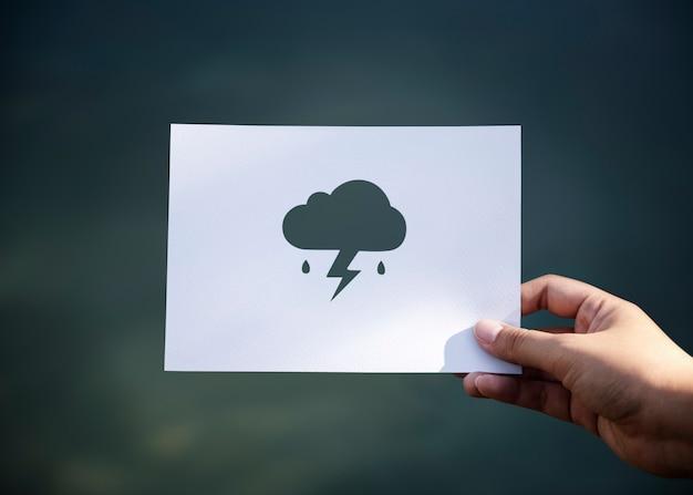 Couper d'un nuage