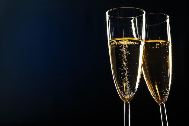 Coupes à champagne pour fêtes