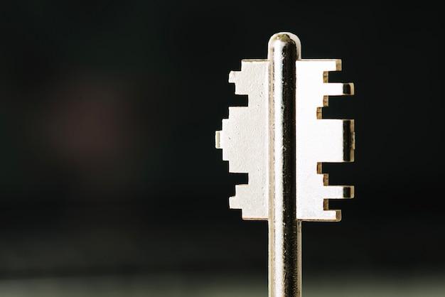 Coupes de clé brillantes