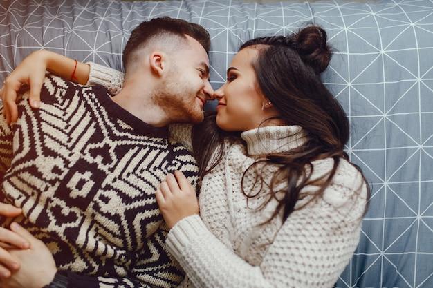 Couple dans un mauvais