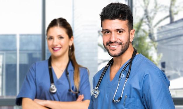 Couple de docteurs