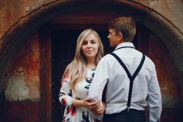 Couple élégant