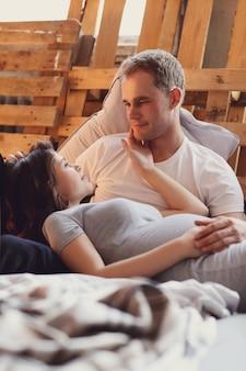 Couple enceinte