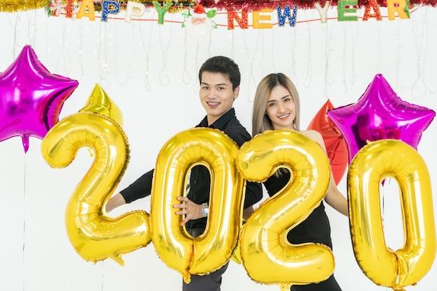 Couple fête 2020