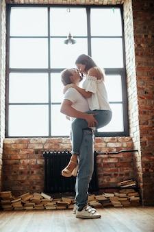 Couple à la maison