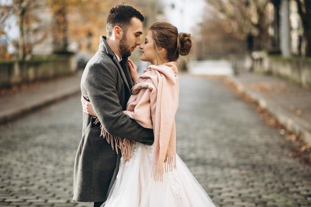 Couple de mariage en france