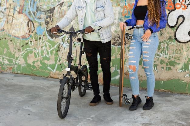 Couple de patineurs