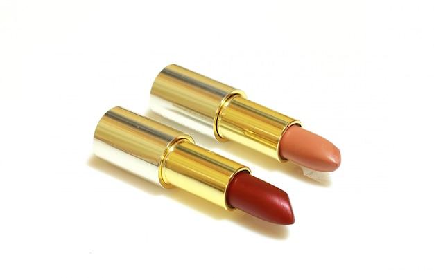 Couple de rouges à lèvres