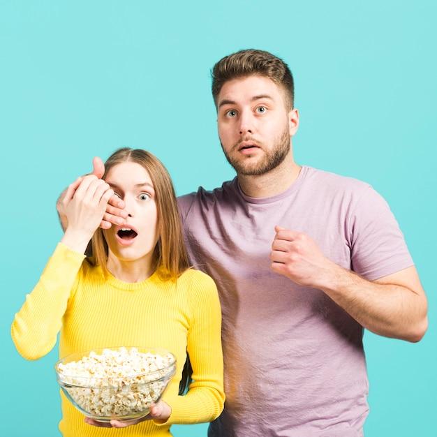 Couple surpris