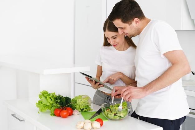 Couple, vérification, recette