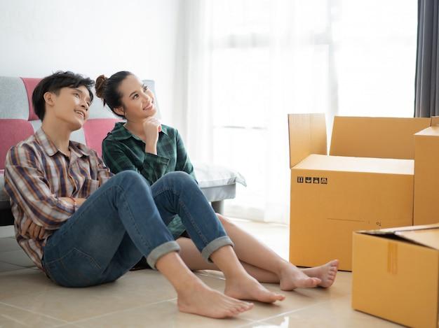 Les couples songent à décorer leur maison et leur chambre