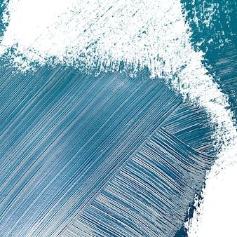Coups de peinture de couleur bleu foncé