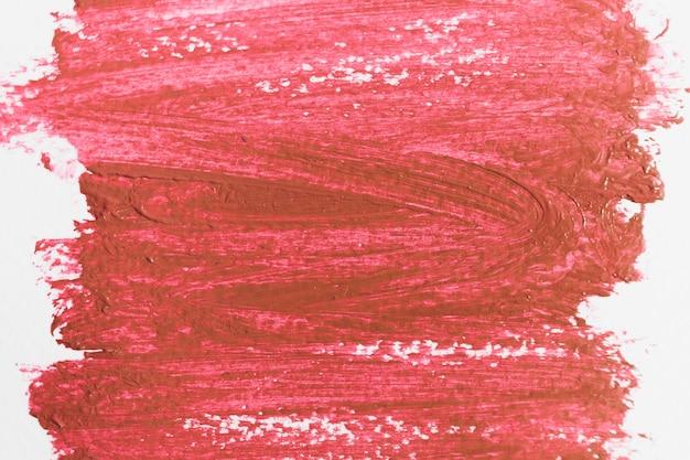 Coups de pigment rouge