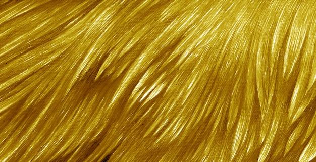 Coups de pinceau à l'huile d'or coloré