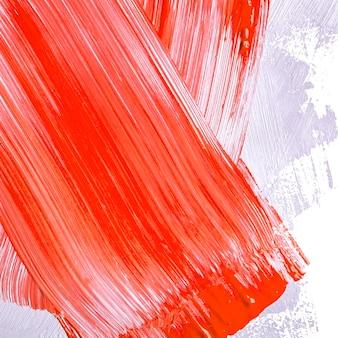 Coups De Pinceau Rouges Et Gris Photo gratuit