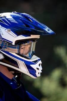 Coureur motocross