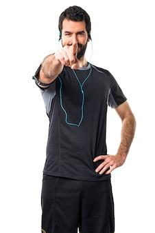Courir le coureur de corps de personne courir