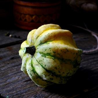 Couronne de citrouille d'automne