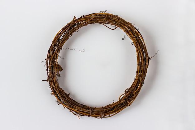 Couronnes de noël en branches de sapin