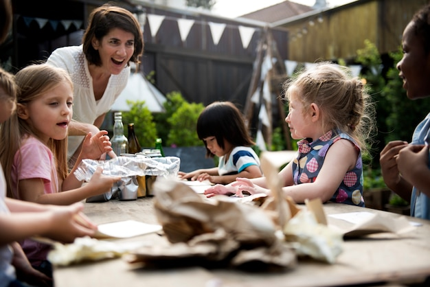 Cours de science sur le mode de vie durable des petits enfants