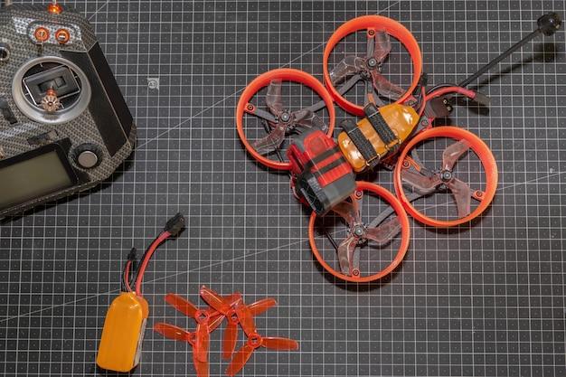 Course de drones fpv cinewhoop