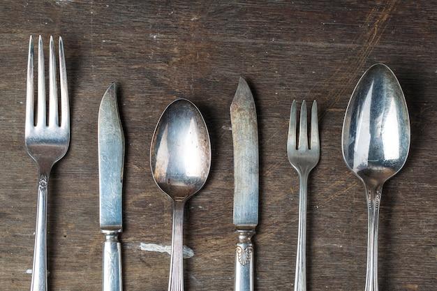 Couteau et une fourchette