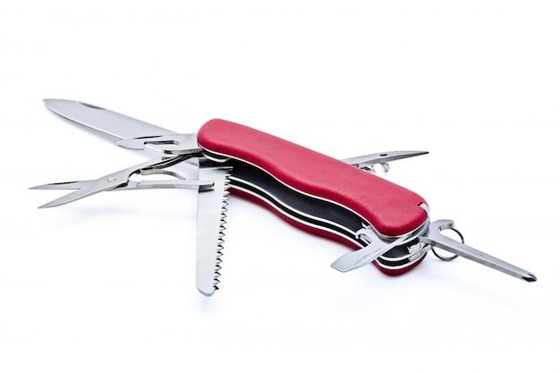 Couteau suisse isolé
