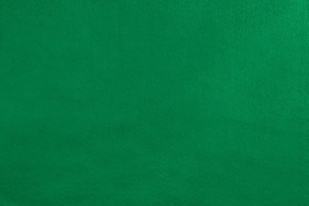 Couverture de velours vert vide sur la table de billard