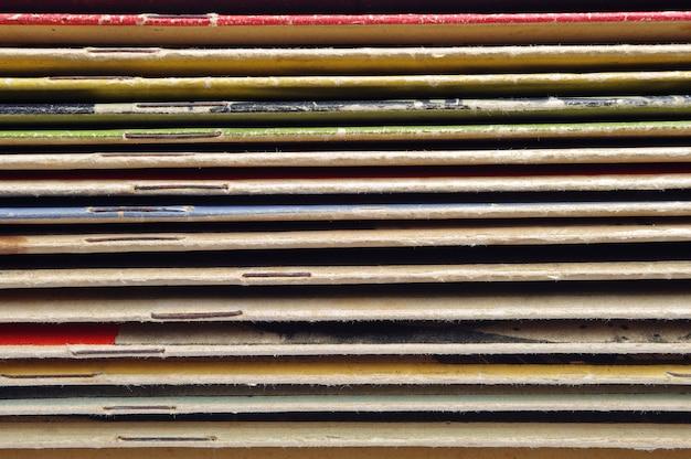 Couvertures de fond de vieux magazines