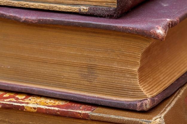 Couvertures de texture de livres anciens