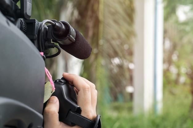 Couvrir un événement avec une caméra vidéo