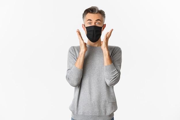 Covid 19, concept de pandémie et de distanciation sociale