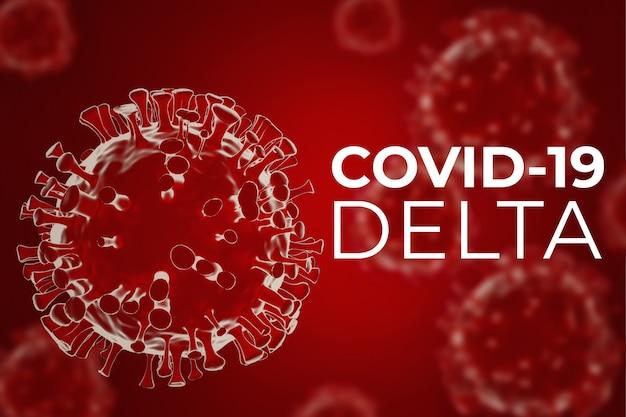 Covidmutation de la variante delta du coronavirus