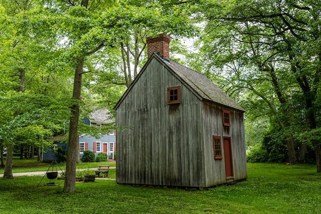 Coxe hall cottage - le plus ancien bâtiment survivant connu dans le comté de cape may, nj, usa