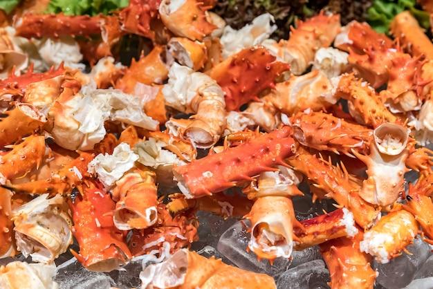 Crabe royal de l'alaska