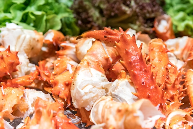 Crabe royal d'alaska