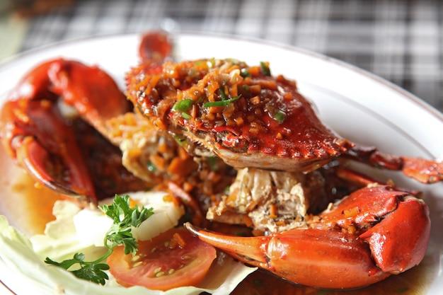 Crabes cuits