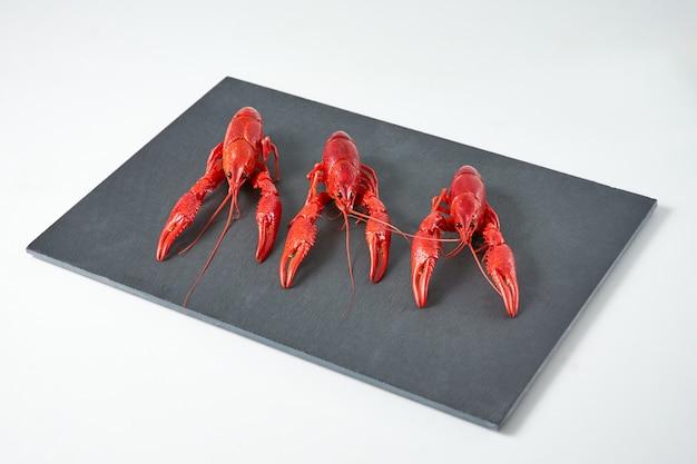 Crabes de rivière cuits